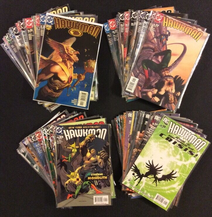 HAWKMAN #1 - 66 HAWKGIRL SUPERHERO Comic Books FULL SERIES Geoff Johns DC Flash