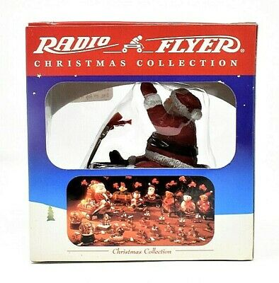 RARE 1999 RADIO FLYER MODEL 120 CHRISTMAS COLLECTION ORNAMENT - SCARCE VERY CUTE
