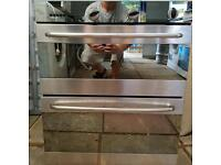 Large double fitted oven delivered and installed