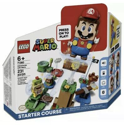 LEGO Super Mario Starter Course. Lego Mario Starter Set 71360. SHIPS TODAY!
