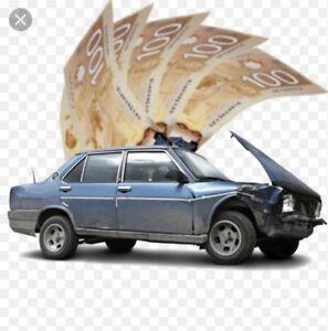 Remorquage et Achat véhicules ferraille