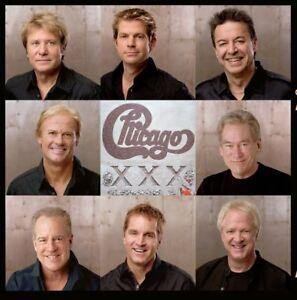 CHICAGO x2 >>> THURSDAY SEPTEMBER 13th 8:00pm >>> 1st ROW FLOORS