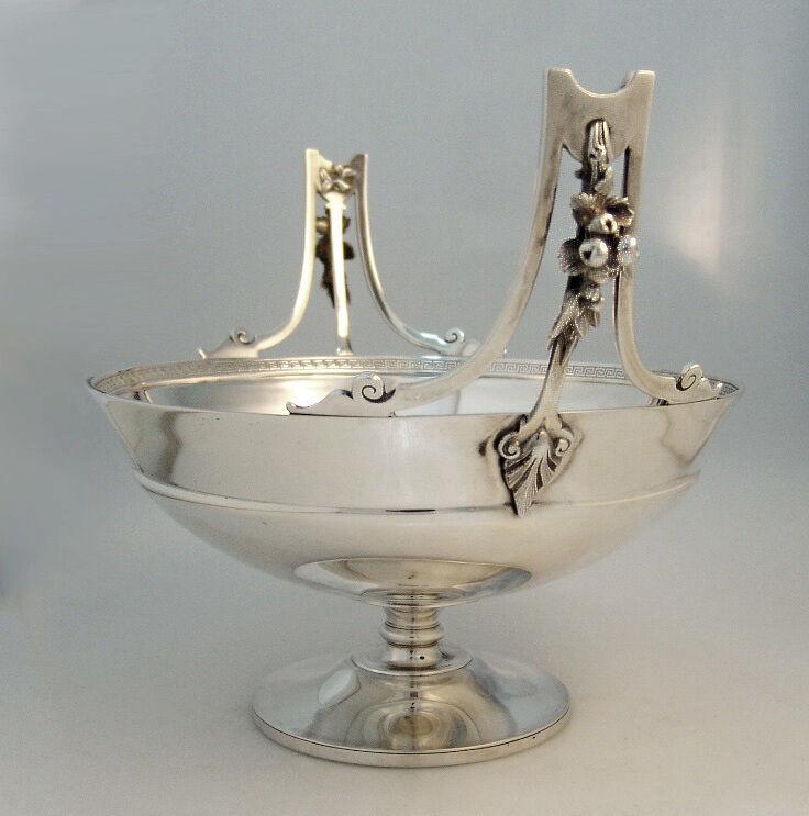 American Sterling Silver Fruit Bowl Gorham Silver 1869