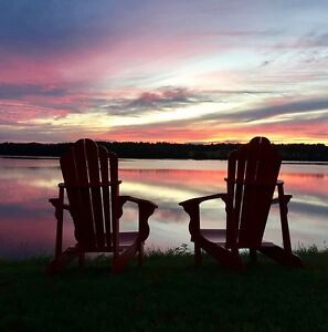Cozy waterfront cottage for rent in Bouctouche