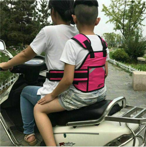 Kinder Sicherheitsgurt Motorrad Sitzgurt Rückenstützgürtel Schutzausrüstung DE