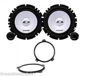 BMW 3 Series E46 16.5cm Front Door Component 2-Way Speaker Upgrade Kit