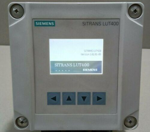 SIEMENS SITRANS LUT420 7ML50500AA221DA0 ULTRASONIC CONTROLLER