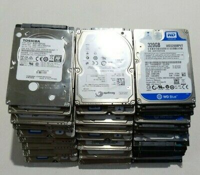 100% Tested Working Mixed Brands Laptop HDD Hard Disk Drive 250GB 320GB (320 Gb Disk Drive)