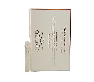 Creed Silver Mountain Water Men Sample 0 08 Oz 2 5 Ml Eau De Parfum Splash New