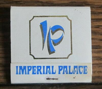 Vintage Las Vegas Imperial Palace Casino Matchbook Unstruck Rear-Striker Matches