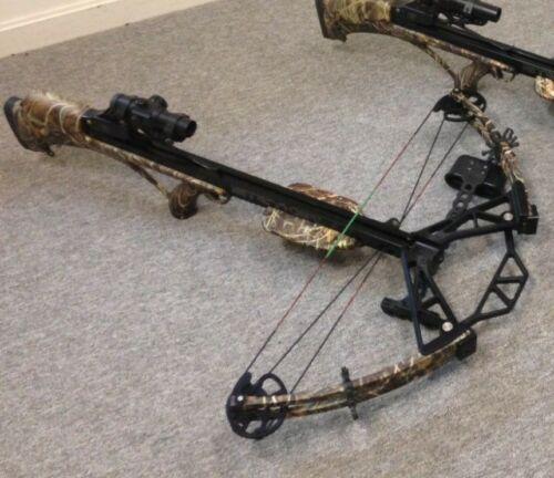 STRYKER Crossbow 405 FPS feet per second Bowtech EASY COCK BUILT IN CRANK