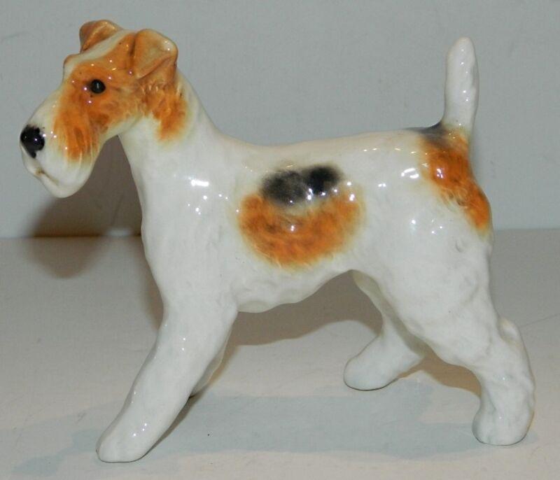 Beswick Porcelain Dog Standing Fox Terrier