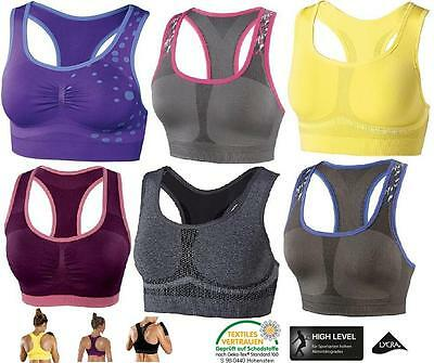 Seamless-bustier (Crivit Damen Sports  Seamless Bustier BH Unterwäsche BRA High Level NEU R 8)