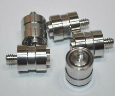 Lot Of 5 Nsk Isc Micro Precision Hdd Pivot Bearings Threaded W Shaft - Robotics