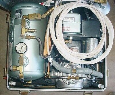 1 Hp M5b Air Techniques Leroy Somer Dental Air Compressor