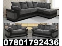 DINO CORNER/3+2 SOFA BLACK/GREY OR BROWN /BEIGE LEFT OR RIGHT CORNE 831
