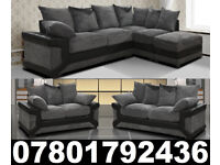 DINO CORNER/3+2 SOFA BLACK/GREY OR BROWN /BEIGE LEFT OR RIGHT CORNE 483