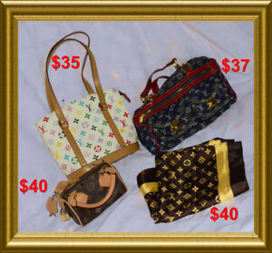 Handbags and Scarf for sale