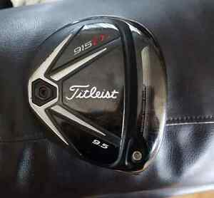 Titleist 915 D3  9.5 degree driver head only, or with shaft $270