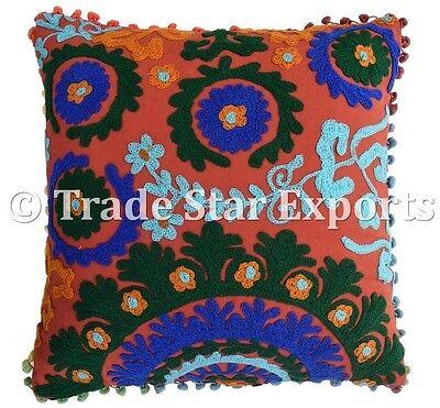 Подушка Indian Uzbek Suzani Cushion Cover