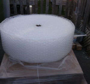 Bubble wrap for moving or shipping