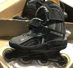 Bauer women's X55WC size 8.5 rollerblades for sale!