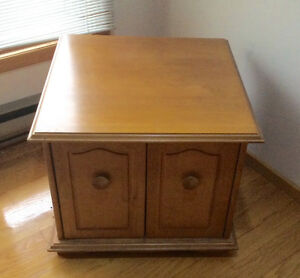 Solid wood tv box cabinet storage container