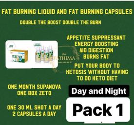 Ts life weight loss product supanova/zeto/volt/clenz/coffee