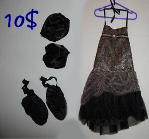 Costume d'halloween *BALLERINE* neuf pour fille taille 8 ans