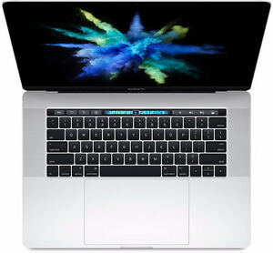 Macbook Pro 15 inch with touch bar.