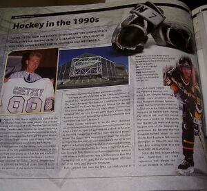 The Official NHL Hockey Treasures Hardcover Book London Ontario image 6