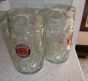 2 large PAULANER MUENCHEN beer jugs $ 5 each Kitchener / Waterloo Kitchener Area image 1