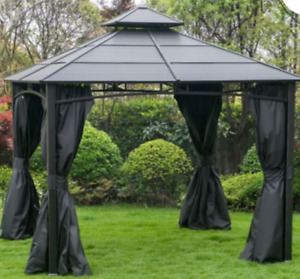 10 x 10 mosquito netting and curtains for gazebo