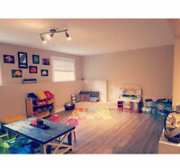 In home childcare ** 2 spots now available**