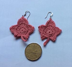 Crochet earrings, all handmade!