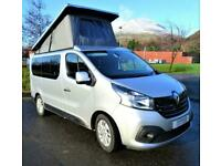 Professionally converted campervan based on a Renault Trafic Sport for sale