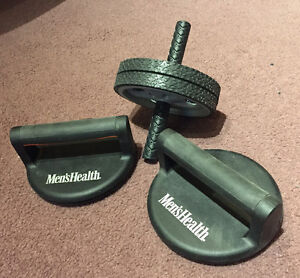 Ab Roller & Push Up Bars