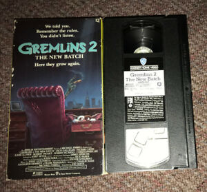 Gremlins 2 The New Batch (1990) Comedy Horror VHS