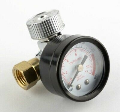 Air Regulator w/ 160 PSI Gauge - Air Compressor Adjust Pressure Painting Tools for sale  Shipping to India
