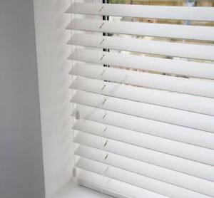 4 x white timber venetian blinds Croydon Burwood Area Preview