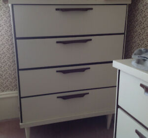 Solid wood painted dressers