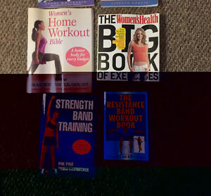 FITNESS BOOKS: exercises/recipes