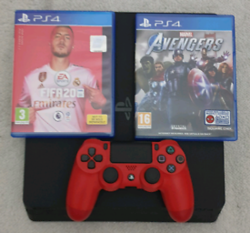 Ps4 slim &controller &games (delivery local)
