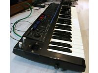 Korg Poly 800 MKII vintage analogue synthesizer - modded