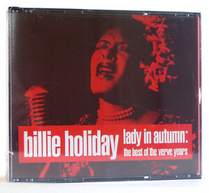 BILLIE HOLIDAY LADY IN AUTUMN BEST OF VERVE UNOPENED SEALED