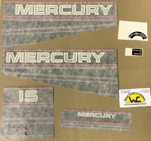 MERC 15HP DECAL KIT 37-13478A94