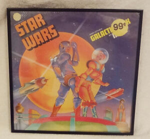 "Star Wars MECO Factory Sealed LP 1977 ""Framed"""