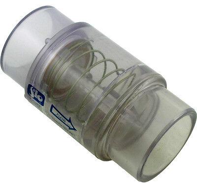 - Spa Hot Tub Air Blower Clear Check Valve 1/4 LB. Spring fits 1.5-2