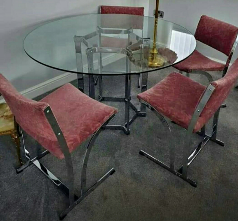 Peachy Vintage Merrow Associaties Dining Table And Rare Z Chairs In Halesowen West Midlands Gumtree Machost Co Dining Chair Design Ideas Machostcouk