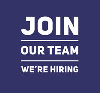 Join Our Team. We're Hiring